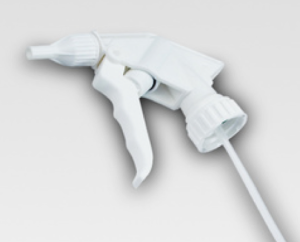 Schäumen statt Sprühen (Bild eines Schäumers, der wie ein Sprayer genutzt werden kann)